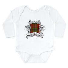 MacLean Tartan Shield Long Sleeve Infant Bodysuit