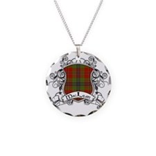 MacLean Tartan Shield Necklace