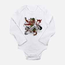 MacLean Tartan Lion Long Sleeve Infant Bodysuit