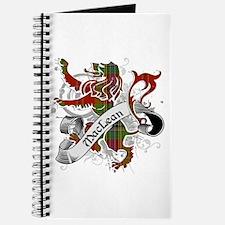 MacLean Tartan Lion Journal