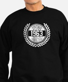 Vintage 1963 Aged To Perfection Sweatshirt
