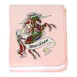 Unicorn maclean tartan Cotton