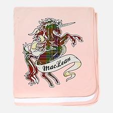 MacLean Unicorn baby blanket