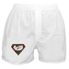 MacLean Superhero Boxer Shorts