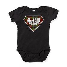 MacLean Superhero Baby Bodysuit