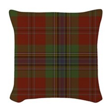 MacLean Tartan Woven Throw Pillow