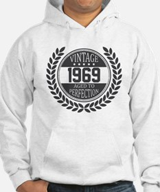 Vintage 1969 Aged To Perfection Hoodie