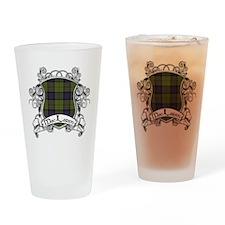 MacLaren Tartan Shield Drinking Glass