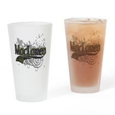 MacLaren Tartan Grunge Drinking Glass