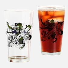 MacLaren Tartan Lion Drinking Glass