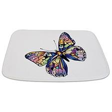 Exotic Butterfly Bathmat