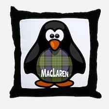 MacLaren Tartan Penguin Throw Pillow