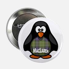 """MacLaren Tartan Penguin 2.25"""" Button"""