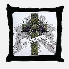 MacLaren Tartan Cross Throw Pillow