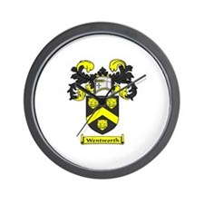 WENTWORTH Coat of Arms Wall Clock