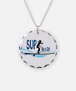 SUP like a Girl Necklace