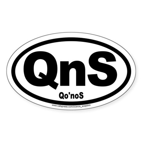 Qo'noS International Sticker