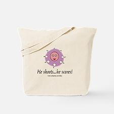 He Scores Tote Bag