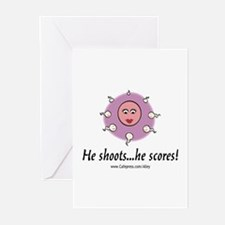 He Scores Greeting Cards (Pk of 10)