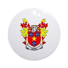 WELLS Coat of Arms Ornament (Round)