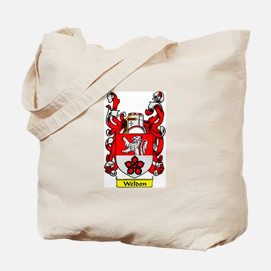 WELDON Coat of Arms Tote Bag