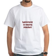 happiness is eating peaches Shirt