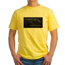 Yellow Diagrammed Sentence T-Shirt