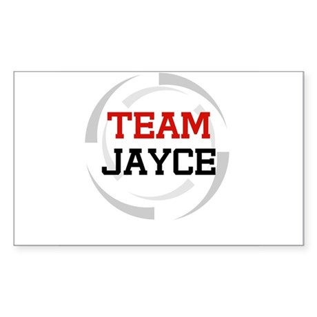 Jayce Rectangle Sticker