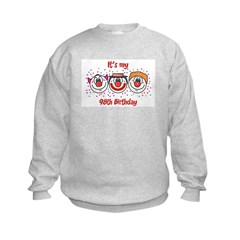 Its my 98th Birthday (Clown) Sweatshirt
