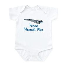 """""""Future Monorail Pilot"""" Infant Bodysuit"""