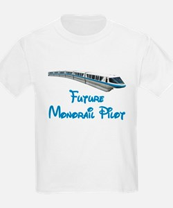 """Future Monorail Pilot"" T-Shirt"