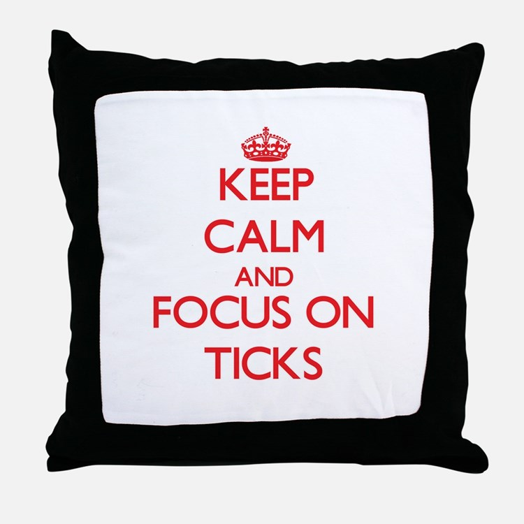 Cute Clack Throw Pillow