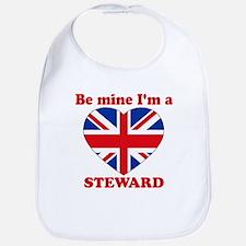 Steward, Valentine's Day Bib