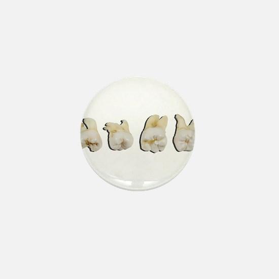 Funny Dentist Mini Button