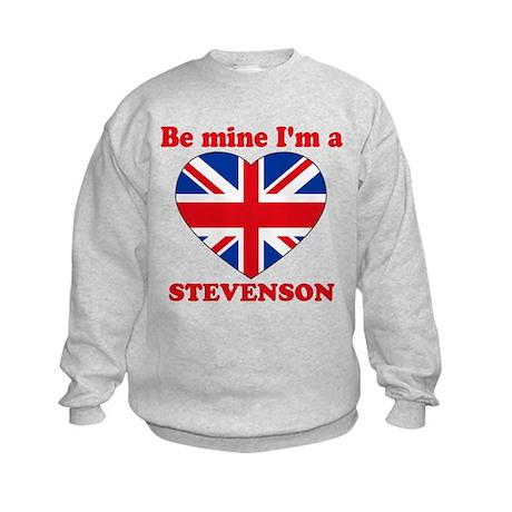 Stevenson, Valentine's Day Kids Sweatshirt