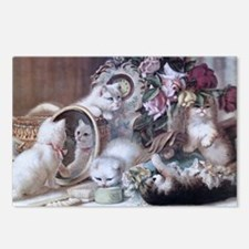 Unique Playful cats Postcards (Package of 8)