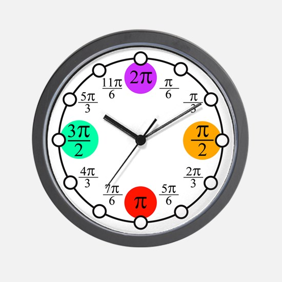 Prosecutors Pi Clock Wall Clock