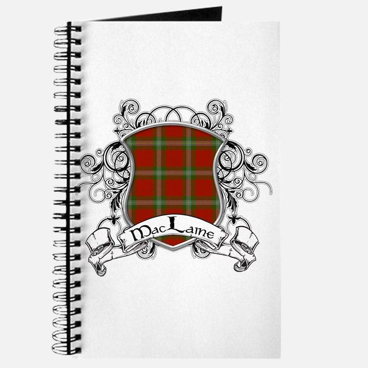 MacLaine Tartan Shield Journal