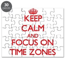 Cute Time zone Puzzle