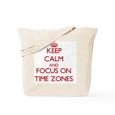 Unique Time zone Tote Bag