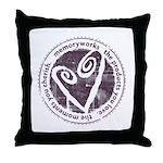 Round Seal Throw Pillow