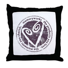 Round Seal Throw Pillow