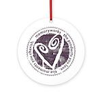 Round Seal Ornament (Round)
