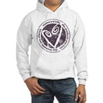 Round Seal Hooded Sweatshirt