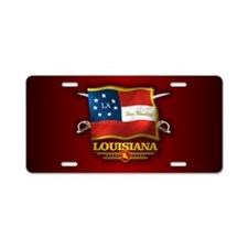 Louisiana-Deo Vindice Aluminum License Plate