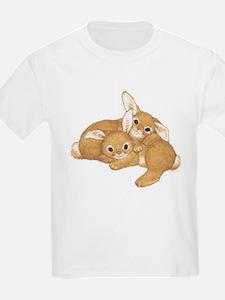 Two Cute Bunnies T-Shirt