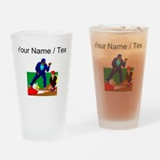 Custom Out At Home Drinking Glass