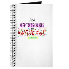 Taking Chances/Having Fun-Garth Brooks Journal