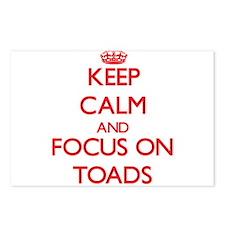 Cute Keep calm frog Postcards (Package of 8)