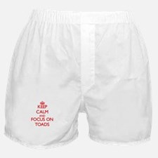 Funny Toad Boxer Shorts